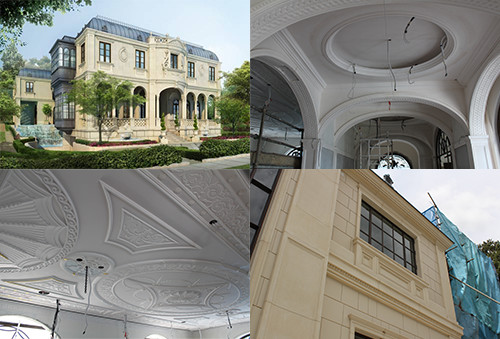 Singpore plasterwork project approaches its completion