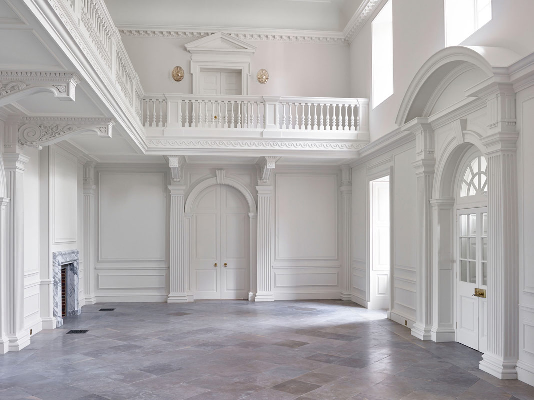 Architectural columns in plaster grp and stevensons stone stevensons of norwich for Interior architectural columns