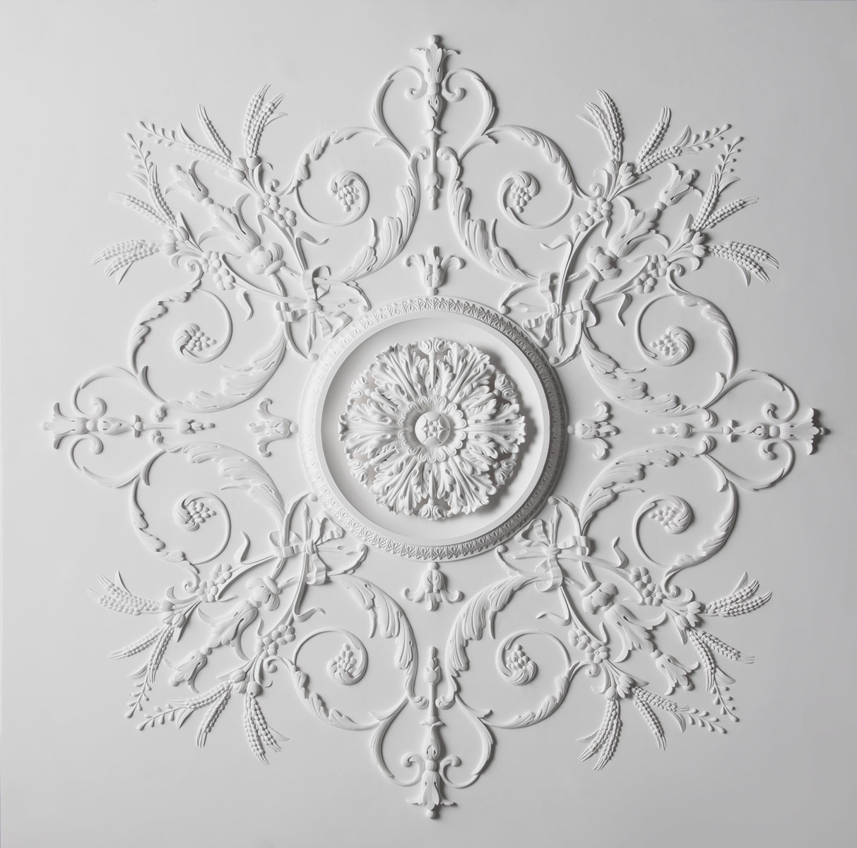 French Floral Decorative Plaster Ceiling Stevensons Of